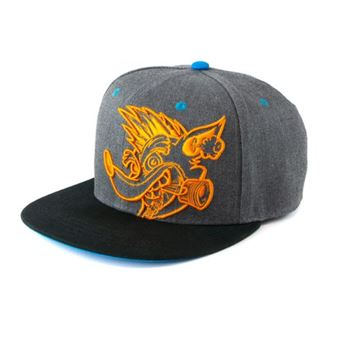Gorra Crash Bandicoot - Team Racing Face Snapback