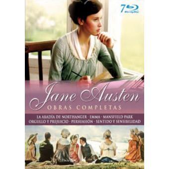 Pack Jane Austen: Obras Completas - Blu-Ray