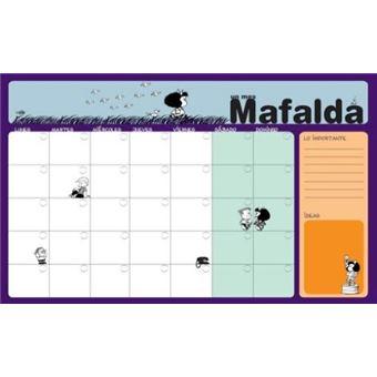 Planificador mensual Mafalda - 50 hojas