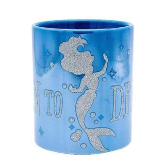 Taza Disney La Sirenita con brillo
