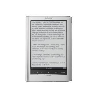 """Sony Reader Touch 6"""" PRS-650 eBook en color plata ( PRODUCTO REACONDICIONADO )"""