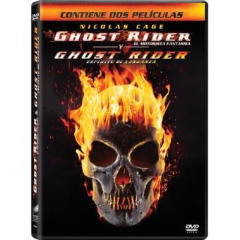 Pack Ghost Rider: El motorista fantasma + Ghost Rider 2: Espíritu de venganza - DVD