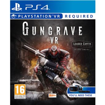 Gungrave VR Edición Loaded Coffin PS4