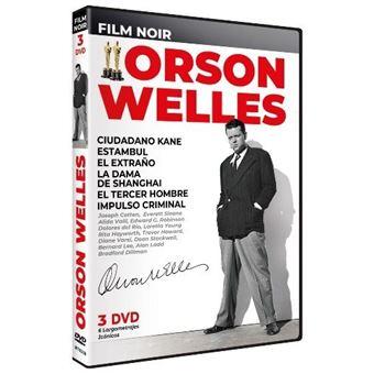 Film Noir Orson Welles - 6 películas - DVD
