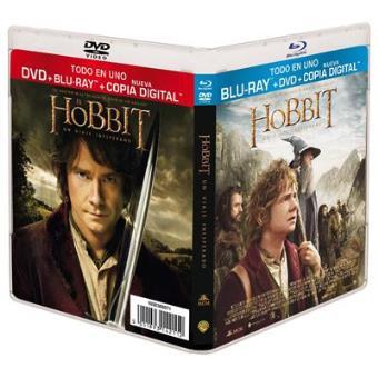 El Hobbit: Un viaje inesperado - Blu-Ray + DVD + Copia digital