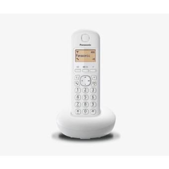 Teléfono inalámbrico Panasonic KX-TGB210SP blanco Dect