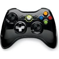Mando Wireless Chrome Negro Xbox 360
