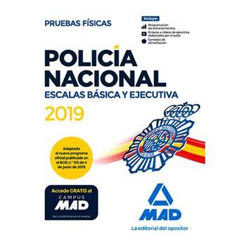 Policía Nacional Escalas Básica y Ejecutiva - Pruebas físicas