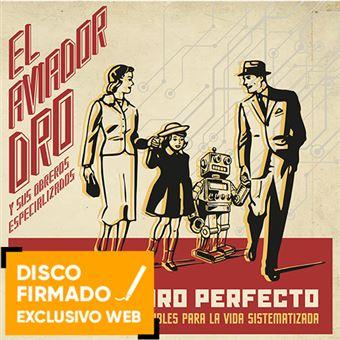 Futuro perfecto - Disco firmado
