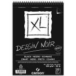 Cuaderno Canson 14x21 Dessin Noir XL