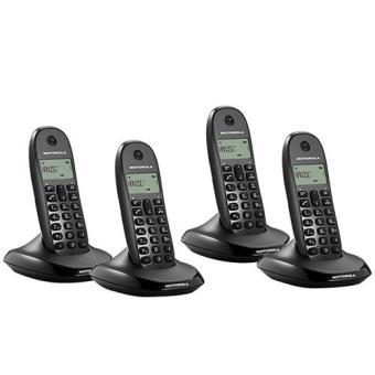 Teléfono inalámbrico Motorola C1004L Dect Cuarteto