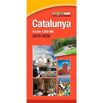 Mapa de Catalunya 2019-2020