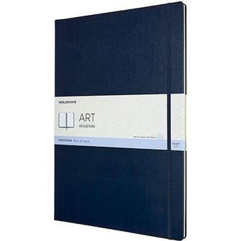 Cuaderno Moleskine para bocetos A3 azul zafiro