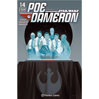 Star Wars Poe Dameron 14 grapa