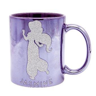 Taza Disney Aladdin - Princesa Jasmine con brillo