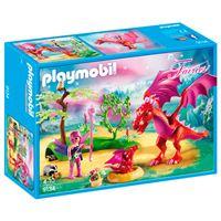 Playmobil Fairies Dragón con bebé