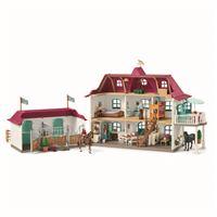 Figura Schleich - Horse Club  Granja de caballos grande con vivienda y establo