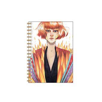 Cuaderno de anillas Cuquiland - Fuego