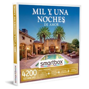 Caja regalo Smartbox Mil y una noches de amor