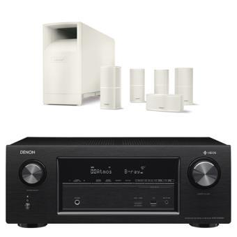 Home Cinema multiroom Denon Sistema 2410 7.2 UHD 4K HDR Blanco