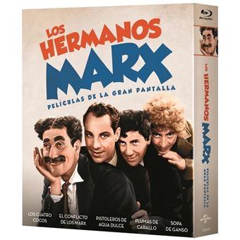 Pack Los Hermanos Marx (5 películas) - Blu-Ray + Libreto