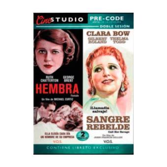 Pack Hembra + Sangre Rebelde con Libreto - DVD