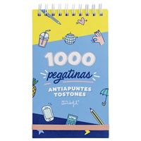 Mr Wonderful Bloc con espiral de mil pegatinas antiapuntes tostones