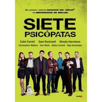 Siete psicópatas - DVD