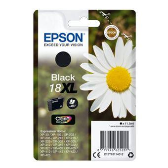Cartucho de tinta Epson T18XL Negro