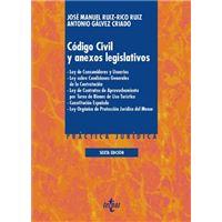 Código Civil y anexos legislativos