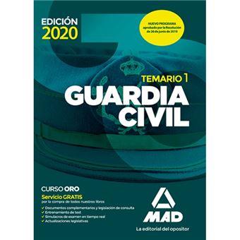 Guardia Civil - Temario Vol 1