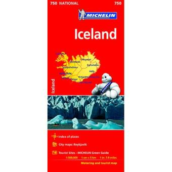 Iceland National Map