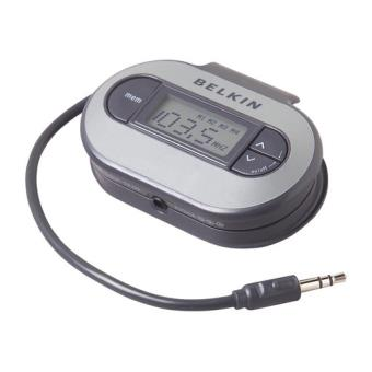 Belkin Transmisor FM Universal TuneCast II PortátilNegro/Plata