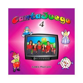 Cantajuego Vol. 4 - DVD + CD