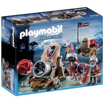 Playmobil  Knights Caballeros del Halcón con cañón