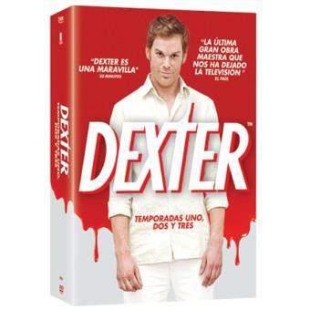 Dexter - Temporadas 1 a 3 - DVD