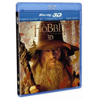 El Hobbit: Un viaje inesperado - Blu-Ray + 3D + Copia digital