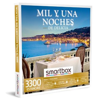 Caja regalo Smartbox Mil y una noches de delicia