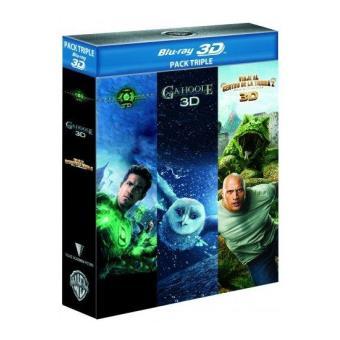 Pack Green Lantern + Ga´Hoole: La leyenda de los guardianes + Viaje al centro de la Tierra 2: La isla misteriosa - Blu-Ray 3D