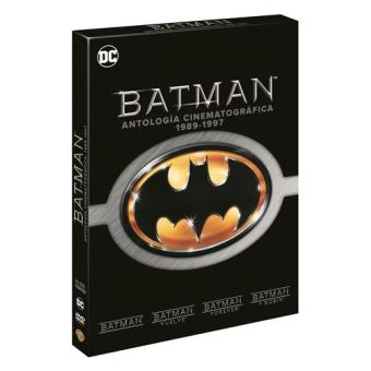 Pack Batman: Antología cinematográfica 1989-1997 - DVD
