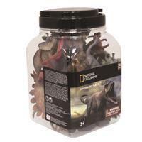 Cubo de 30 figuras de dinosaurios