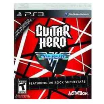 Guitar Hero Van Halen Software PS3