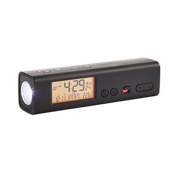 Reloj despertador de viaje con linterna 60 ciudades