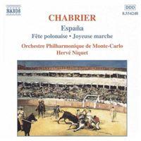 Orchestral works:espana..