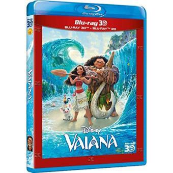 Vaiana - Blu-Ray + 3D