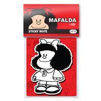 Notas adhesivas Mafalda con vestido liso
