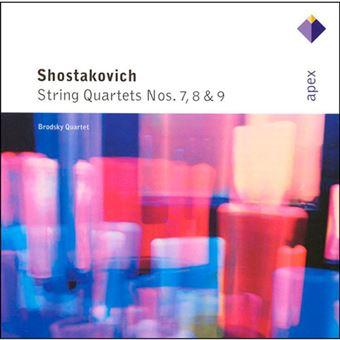 Dmitri Shostakovich - String Quartets Nos. 7, 8 & 9