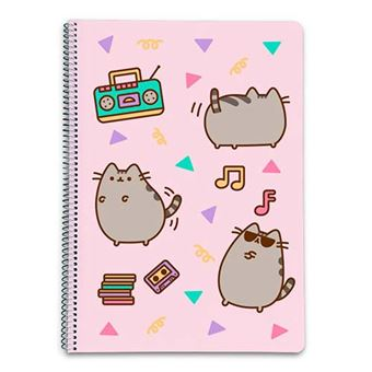 Cuaderno Pusheen The Cat 2 tapa dura A4 5x5