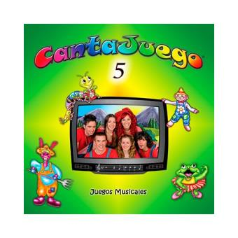 Cantajuego Vol. 5 - DVD + CD