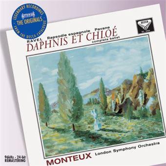Ravel. Daphnis et Chloé, Rapsodie Espagnole, Pavane